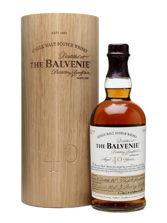Balvenie 40 Year Old - Single Malt Scotch Whisky
