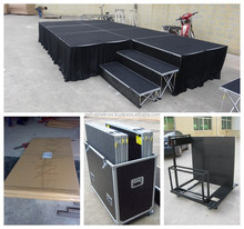Mini stage lighting packing with case