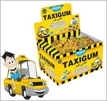 taxi chewing gum