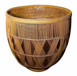 Hot fruit rattan basket hold fruit, Export standard rattan basket, Vietnam craft basket