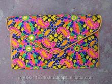 Beautiful Indian Vintage Banjara Clutch Bag Handmade Bag