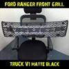 """Ford Ranger Front Grille V1 """"TRUCK"""" chrome"""