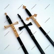 Masonic Regalia Swords Collection | Masonic Ceremonial Sword | Masonic Rose Croix Sword With Black Scabbard