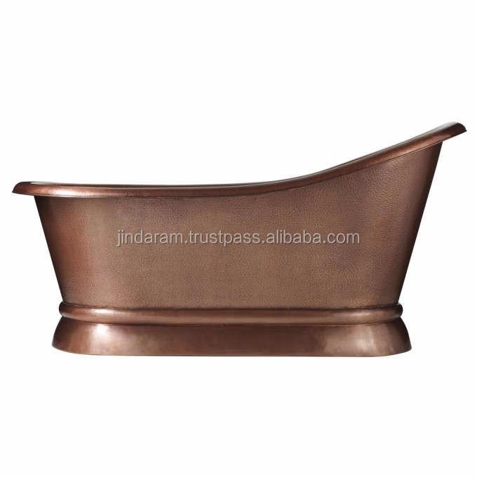 Vintage Brown Copper Bath Tub.jpg