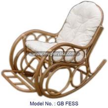 antique rattan rocking chair, rattan indoor furniture