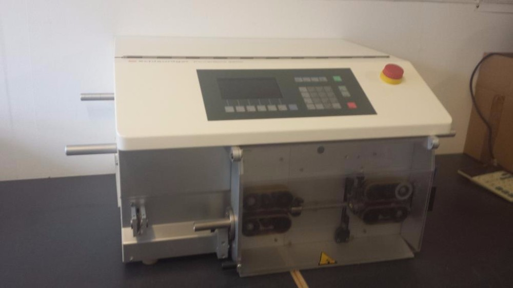 used wire cutting and stripping machine