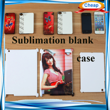 Sublimation heat press printing blank phone cover for iphone 6 plus