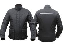 realizzato a mano su misura di design uomini giacca in cordura moto