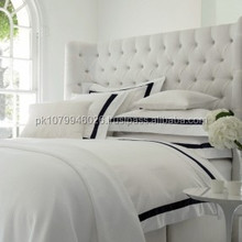 plain dyed best selling egyptian cotton designer satin bed sheets