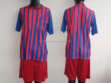 Conjunto uniforme de fútbol jersey, pantalones cortos calcetines, customized barato Soccer jersey fijó / barato baloncesto conjunto uniforme