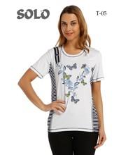 butterfly print design tshirt