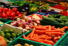 Fresh Vegetables from India