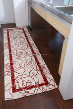 Tasteful and High quality kitchen furniture rug with anti slip