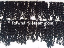 wholesale Vietnamese 100% natural colour 6A virgin remy double drawn weft hair