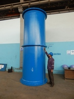 Ductile Iron Flange Socket pipe with puddle Flange