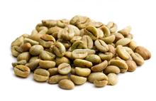 verde chicchi di caffè robusta