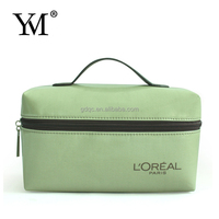 Best Quality customized Color Vinyl hard case cosmetic bag
