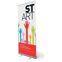 Standee Banner Printing services at Affordable Cost