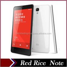 "Original Xiaomi Red Rice Note Redmi Hongmi 3G WCDMA Dual SIM MTK6592 Octa Core 5.5"" Qualcomm 4G LTE Android Smart Mobile Phones"