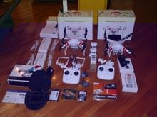 ORIGINAL FPV DJI Drone Phantom 2 Vision plus V3.0 With Professional Zenmuse H3-3D 3-Axis Gimbal Gopro Hero 4 Camera Aerial UA