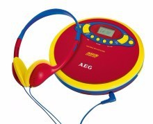 AEG Portable CD/MP3-Player CDP 4228 Kids Line