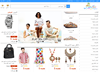 E-commerce website design for Brand products