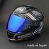 High quality water repellent coating mirror visor for Shoei motorcycle helmet