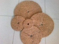 Rubberized Coir Disc / Coir Weed Suppression Mat