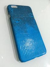 Genuine Reptile Lizard Skin Case For iPhone 6 Natural