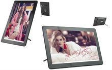 10 inch slim bezel design digital photo frame with remote control