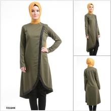 ALL198 2015 New Fashion Exclusive Hot Selling short Sleeve Turkish Tunic, hijab and Abaya