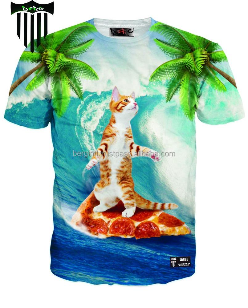 3d Dye Sublimation T Shirt All Over Sublimation T Shirt