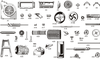 spare parts for rice hulling machine