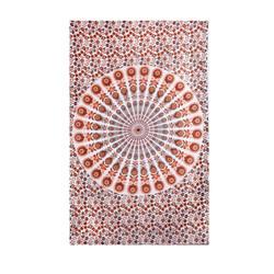 Indian Mandala Sheet Bedspread Cotton Tapestry Wall Hanging Hippie Twin Single