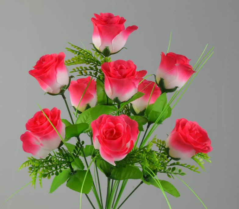 Artificial Rose Bouquet Flower With Cheap Price - Buy Indian Rose ...