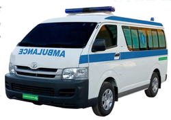 Toyota Hiace 2016 Mid Roof Van Ambulance