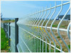 Welded wire mesh fence,wire mesh fence,PVC Coated V Pressed Fence