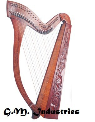 36 Strings Harps high quality made by rosewood