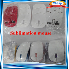 3D blank cute computer mouse , decorative computer mouse for customize printing