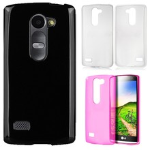 Slim TPU Flexible Skin Glossy Soft Rubber Ultra Thin Fitted Case For LG Leon C40