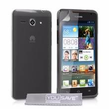 Yousave Accessories Crystal Clear Hard Cover Case Huawei Ascend Y530