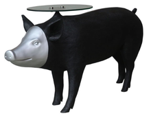Pig with LED and Table Top