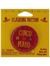 cinco de mayo flashing button