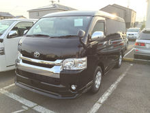 Durable high quality New TOYOTA HIACE car auction at reasonable price