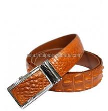 Crocodile leather belt for men SMCRB-017