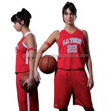 Basketball jersey uniform for girls