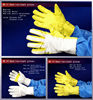 anti cut work gloves made of filament kevlar heat resistant fabric