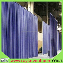 aluminum portable pipe drapes,pipe and drape used for sale
