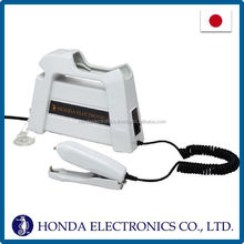Functional electric stapler machine for plastic packages , ultrasonic powered