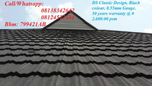 QUALITY DS/BATLAN STONE COATED STEP TILES ROOFING SHEET WITH 50 YEARS WARRANTY